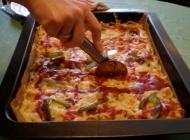 Spagetti pizza