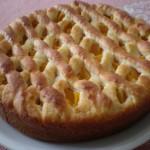 Prhka torta od breskvi