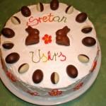 Uskrsna voćna torta