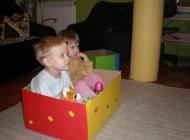 Ukrasne kutije za igračke (i djecu po potrebi)