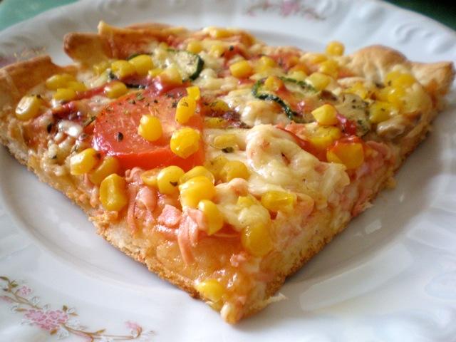 Šarena proljetna pizza