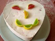 Lagana jogurt torta s jagodama