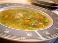 Proljetna juha od mladog graška
