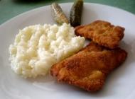 Bečki odrezak s rižom