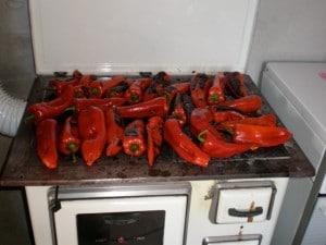Pečenje paprike za ajvar
