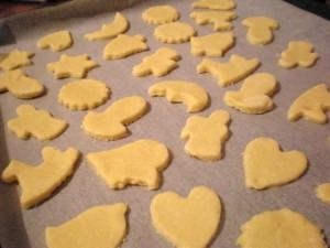 sitni kolači prije pečenja