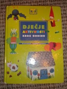 Knjiga Djećje aktivnosti kroz godinu