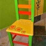 Ukrašavanje dječje stolice