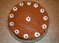 Trobojna sladoledna (pijesak) torta