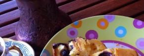 Osvježavajući kolač s limunom i borovnicama