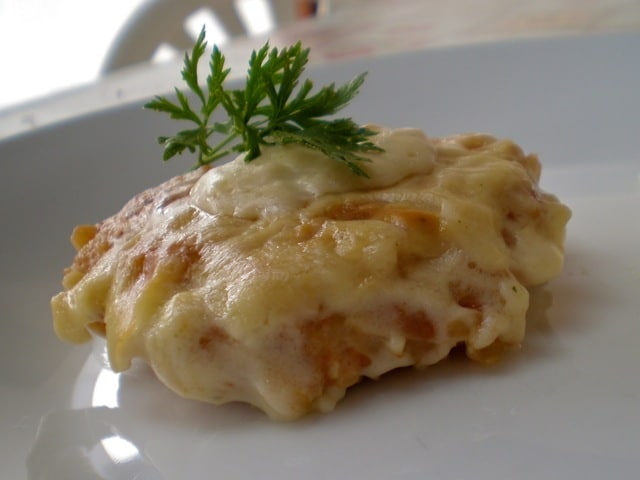 Kosani odresci s ribanim krumpirom