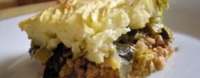 Pastirska pita s porilukom