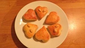 Valentinovo - recept