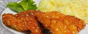 Pohana piletina sa sezamom