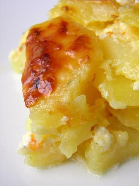 Gratinirani krumpir (Gratin Dauphinois)