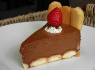Čokoladna mousse torta – Chocolate mousse cake