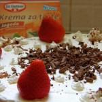 Šah torta s jagodama