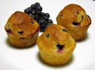 Muffini s kruškama i grožđem
