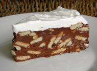 Čokoladna puding torta