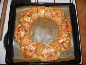 Cvjetna pizza pogača