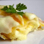 Rolane lasagne sa šunkom