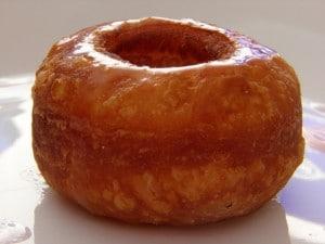 Cronut - prikaz krafne s preljevom