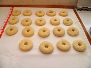 Opis postupanja s cronutsima prije pečenja