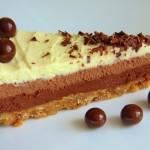 Čokoladna torta s tri vrste čokolade