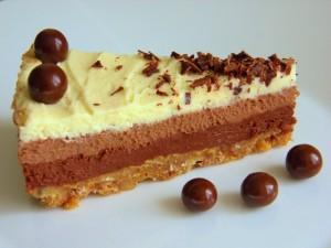 Čokoladna torta - način serviranja