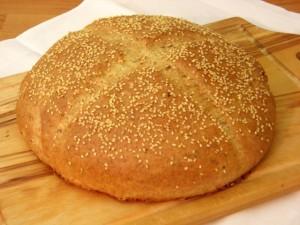 integralni kruh prije posluživanja