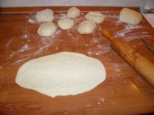 Načinm pripreme tijesta za pide - tursku pizzu