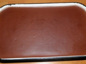 Stavljen čokoladni ganache