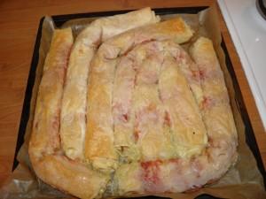 pizza burek - upravo ispečeni