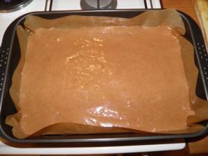 Julka šnite - prikaz sirovog biskvita