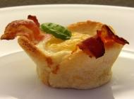 Muffini alla engleski doručak (Ham & Eggs muffins)