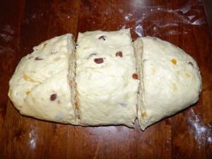 Božićni kruh - 2. korak izrade