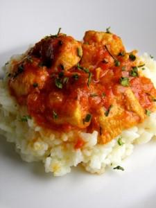 Piletina tikka masala - jedna porcija