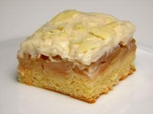 Preokrenuti kolač s jabukama - desert!