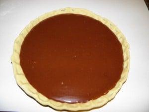 Čokoladni meringue tart - 3. korak izrade