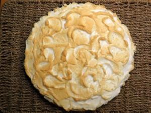 Čokoladni meringue tart - 6. korak izrade