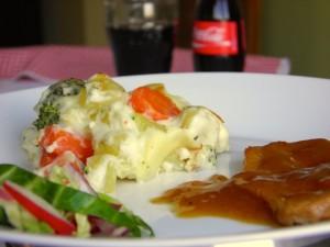 Gratinirano povrće - jednostavno i fino jelo