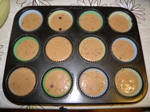 Priprema cupcakes