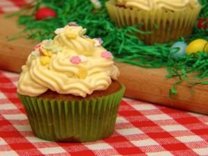 Priprema cupcake za Uskrs