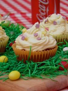 Šareni uskršnji cupcakes