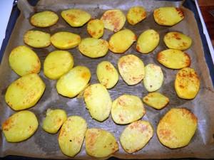 Police u krumpira - priprema za pečenje
