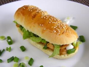 završeni sendviči s piletinom