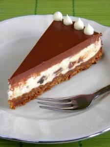 Oreo cheesecake na tanjuru