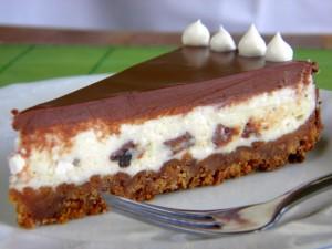 Oreo cheesecake sa ganache kremom
