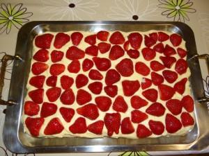 Slaganje kolača u slojevima