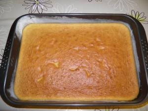 2.korak - pečenje biskvita